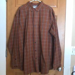 Men's Columbia Button Down shirt. Like new! XLT.